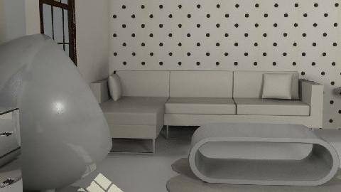 Blanc - Living room - by Boadie