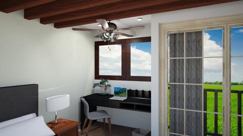Small room 01 Studio - Classic - Bedroom - by Thanutnon Natthanonthattana