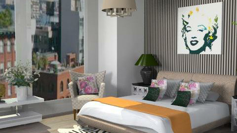 The Pent House Bedroom - Modern - Bedroom - by FranklyDear
