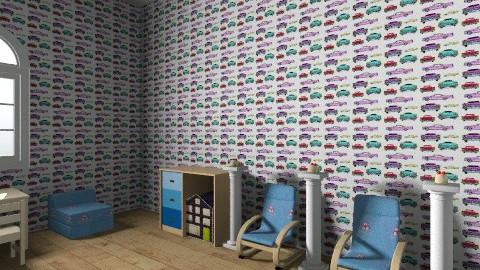 quarto carros - Kids room - by JCjulia