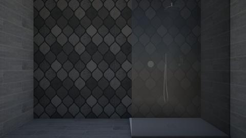 dark bathroom - Bathroom - by Paris Lidgard