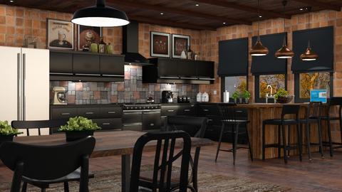 Eclectic Kitchen - Kitchen - by GraceKathryn
