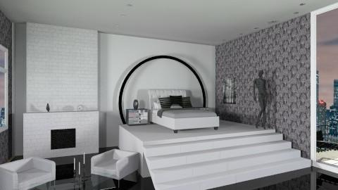 lovers dream - Modern - Bedroom - by StefySlayer