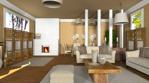 life is simply sick - Living room - by vesperis