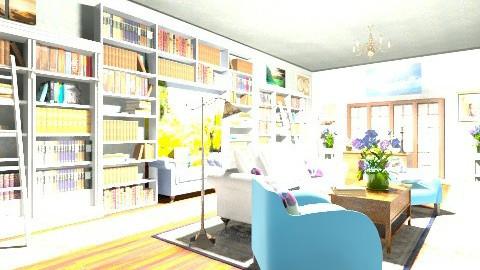 HomeOffice - Retro - Office - by NorthStarAurora