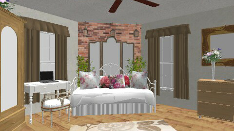 cottage bedroom - Vintage - Bedroom - by smw0196