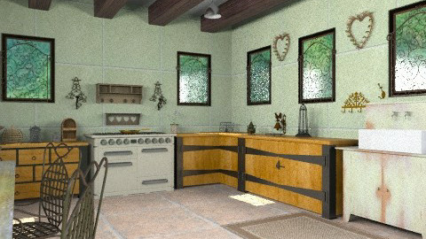 Rustique - Country - Kitchen - by camilla_saurus