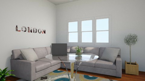 family room - Modern - Living room - by bbgold