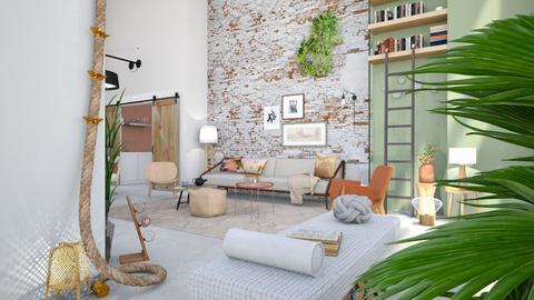 Expatm - Living room - by Gwenda van Maaren