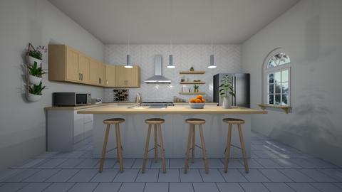 scandinavian kitchen - Kitchen - by erladisgudmunds