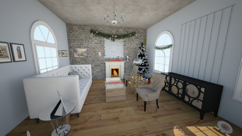 Merry Christmas - Living room - by MiiOoXx