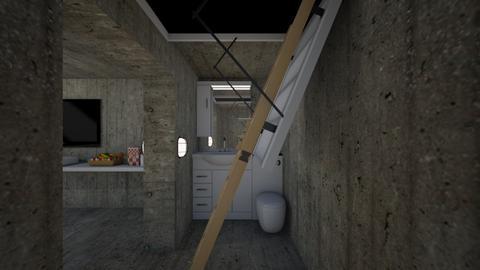 Bunker Bathroom - Bathroom - by SammyJPili