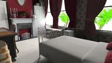 Victorian Red Velvet M - Classic - Bedroom - by Lisett