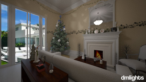 ChristmasLivingSpace - Living room - by DMLights-user-1104016