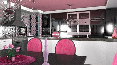 kitchy kitchen - Glamour - Kitchen - by mywishlr