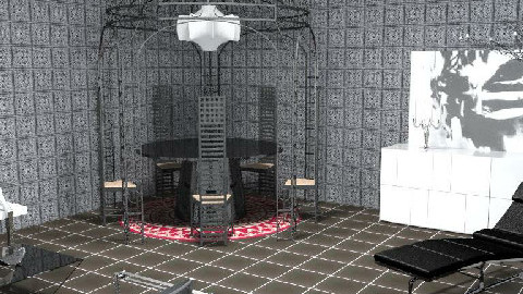 back to black - Dining Room - by The_Hunter_and_Gatherer