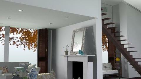 Mezzanine - Rustic - Living room - by hunny