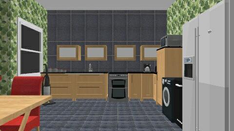 ROOM - Retro - Kitchen - by nicolehannah