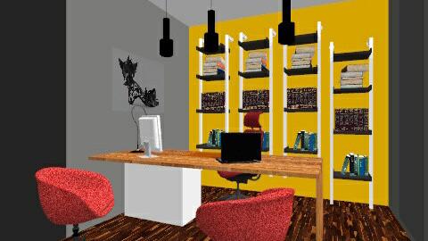 frattelli office  - Modern - Office - by mohamed hassan