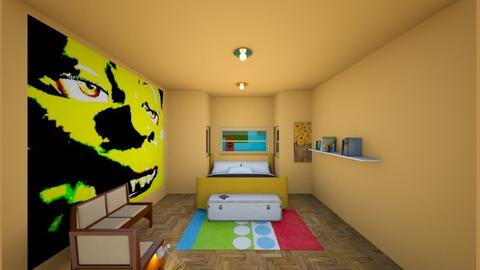 feel the love - Modern - Bedroom - by dinorock112_v3