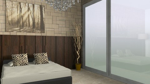 Posh - Modern - Bedroom - by AmyMcGrane