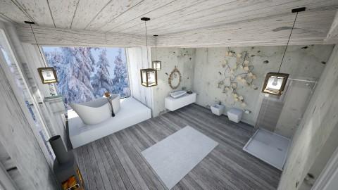 Simple - Bathroom - by natalia98
