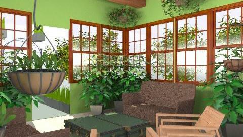 Green Room - Classic - Garden - by tayloriginal