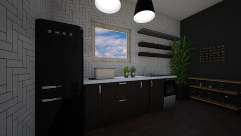 Kitchen concept - Kitchen - by Rebeka Kri