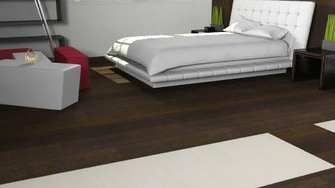 Bed Room - Minimal - Bedroom - by nmansoori