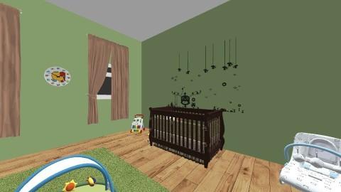nursery 1 - Classic - Kids room - by Katherine Gilbert