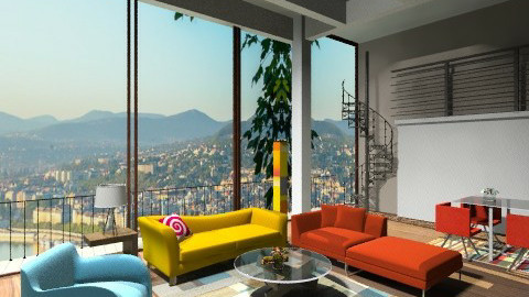 elegant - Living room - by dina_szab