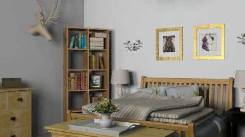 Hunting Lodge - Country - Bedroom - by hunny