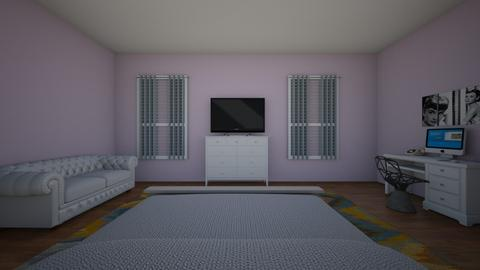 Zariah Hines Morris  - Bedroom - by senewby