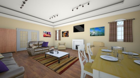 vintage life - Vintage - Living room - by mrrhoads23