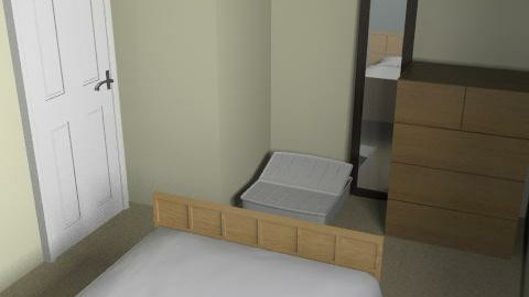 Bedroom rough - Bedroom - by domesticnovice