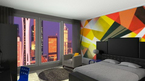 Seattle Suite - Modern - Bedroom - by allysonrose