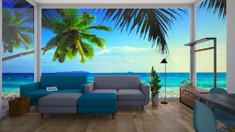 Ocean View - Modern - Living room - by Star_Lilly