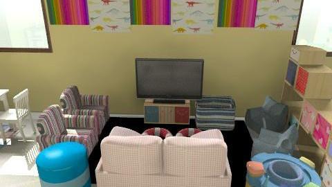 ici daycare v3x - Vintage - Kids room - by mehar