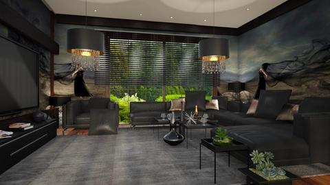 House_TV Room - Modern - Living room - by ZsuzsannaCs
