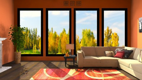 Family Room - Living room - by jessica1121