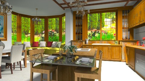 Classic kitchen2 - Classic - Kitchen - by XValidze