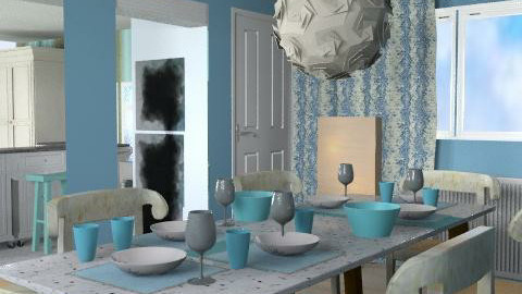 Breath Of fresh Air Kitchen - Rustic - Kitchen - by Interiors by Elaine