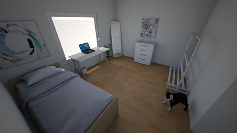 My new bedroom - Modern - Bedroom - by Oskar_Joahnnes
