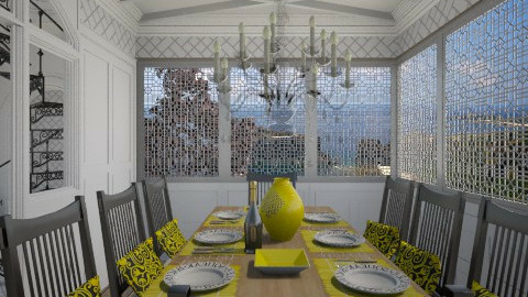 Hint of Lemon - Classic - Dining room - by Musicman