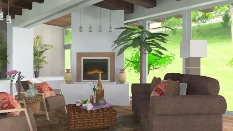 Rusty Living  - Rustic - Living room - by jackiefruit