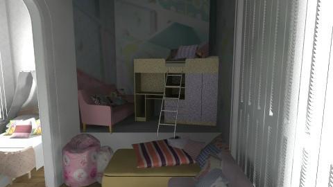 Sweet girls room - Kids room - by KarolinaZ