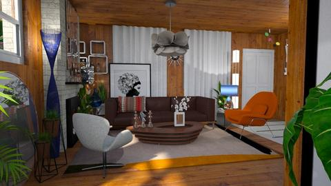 Ralph Fournier for Allen - Living room - by LuzMa HL