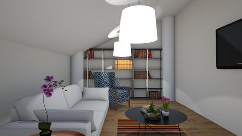 Attic Living Room - by Ohtoe