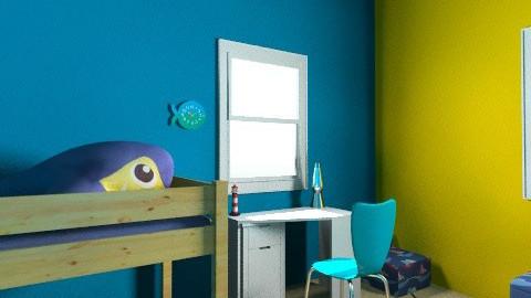 Little pirate bedroom - Bedroom - by coccinelledu28