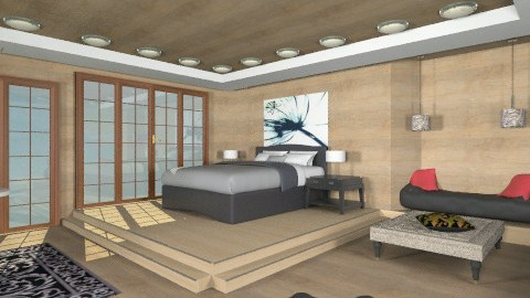 swis - Country - Bedroom - by ostwany_aboud